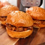 Instant Pot Bacon Cheeseburger Sloppy Joes