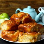 Apple Caramel Cheesecake Swirl Buns