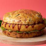 Giant Jalapeño Popper Chicken Burger