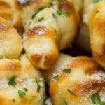 Grilled Garlic Knots
