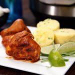 Instant Pot Jerk Chicken and Cornbread