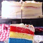 Surprise Inside Independence Cake