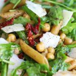PENNE ARUGULA SALAD WITH SUN DRIED TOMATOES