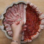Bacon-wrapped Mashed Potato-stuffed Meatloaf