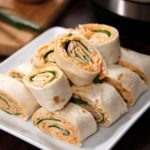 Instant Pot Buffalo Chicken Pinwheels