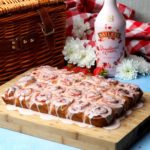 BAILEYS STRAWBERRIES AND CREAM STICKY SWIRL BUNS