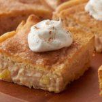 Apple-Cinnamon Cheesecake Bars